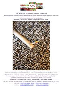 Axminster carpet stock range - The Leopard print axminster collection