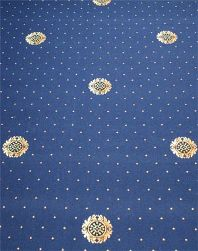 Axminster carpet heavy contract - 80/20 cameo design pattern with pindots