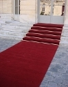 Red Carpet Runner - Protocolary red carpet runners and protocolary red carpets for VIP