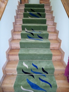 Hand made hand tufted stair carpet runner - Design 1028 from A3C Carpets