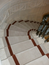 Stair runners available from stock ranges or custom made to order