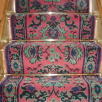Stair carpet runners - Smyrne Turkey design Victorian style