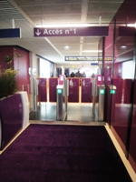 Welcome mat Access n°1 - Paris airport Orly south